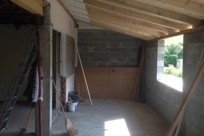 Before-TRAVAUX EXTENSION