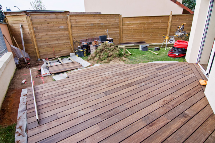 Terrasse home r novation - Amenager une terrasse en bois ...